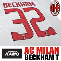 サッカーショップ加茂 ACミラン#32 ベッカムTシャツ