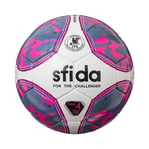 スフィーダ フットサルボール INFINITO NEO 4号球 ピンク サッカーボール