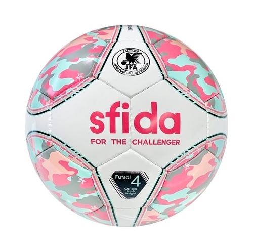 スフィーダ フットサルボール INFINITO NEO 4号球 ピンク/サックス サッカーボール