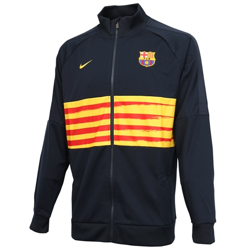 ナイキ FCバルセロナ I96 ジャケット ELC ダークオブシディアン サッカー