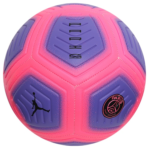 ナイキ PSG ストライク ジョーダン SP2 ハイパー ピンク/サイキック パープル/ブラック サッカーボール