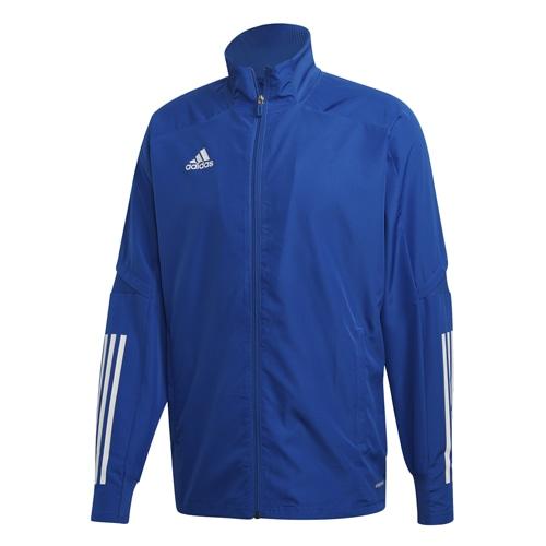 アディダス CON20 プレゼンテーションジャケット チームロイヤルブルー×ホワイト サッカーウェア