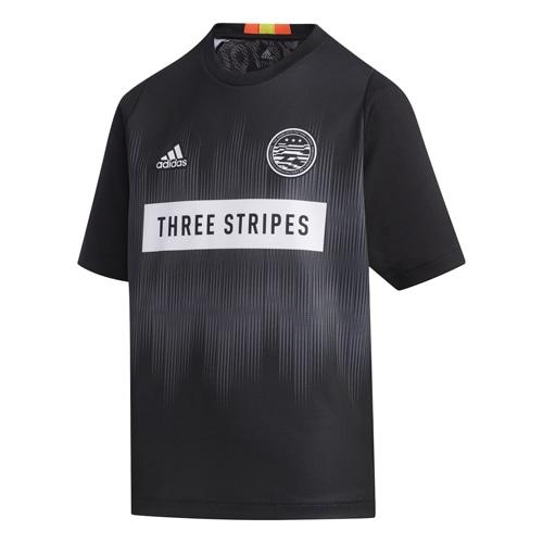 アディダス B スポーツインスパイア Tシャツ GAME ブラック サッカーウェア