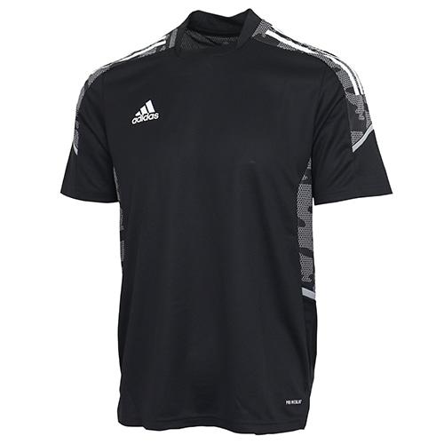 アディダス CONDIVO21 トレーニングジャージー ブラック/ホワイト サッカーウェア
