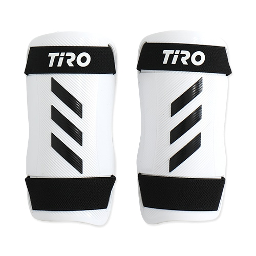 アディダス TIRO シンガード TRN ブラック/ホワイト/ホワイト サッカー
