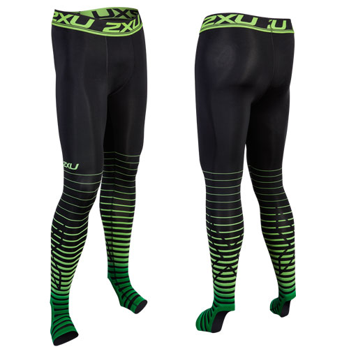 POWER RECOVERY COMPRESSION TIGHTS BLK/GR