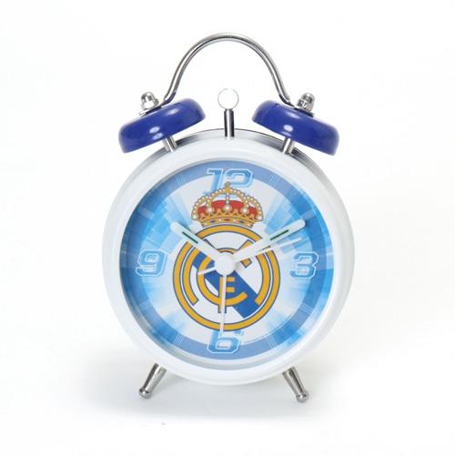 海外クラブ・ナショナルチームグッズ レアル・マドリード 目覚まし時計 サッカー