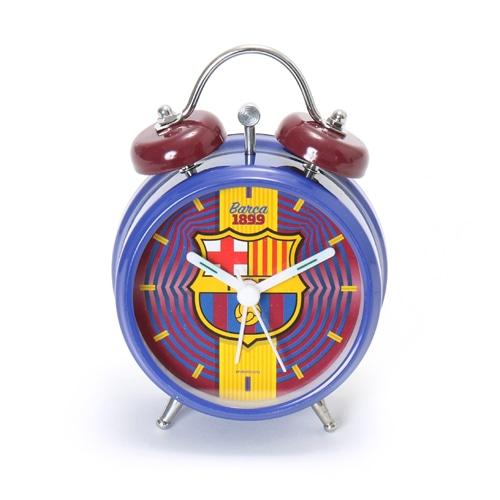海外クラブ・ナショナルチームグッズ FCバルセロナ 目覚まし時計 サッカー
