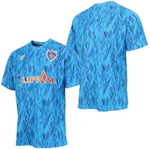 アンブロ 2019 FC東京 セカンダリーシャツ IBブルー サッカー