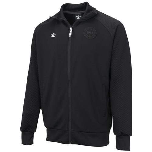 アンブロ URA/トレーニングジャケット ブラック サッカーウェア