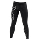 CORE COMPRESSION TIGHTS BLK/SIL