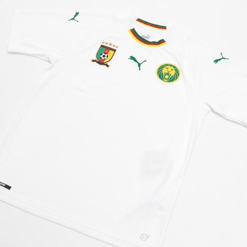 FCF カメルーン アウェイレプリカ SSシャツ PUMA WHITE POW