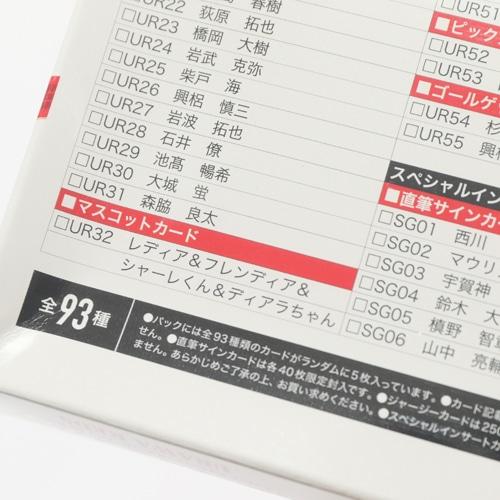 2019JリーグオフィシャルTDカード 浦和レッズ BOX