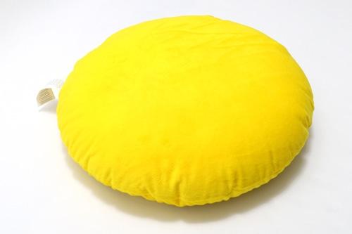 BVB Cushion YEL Round