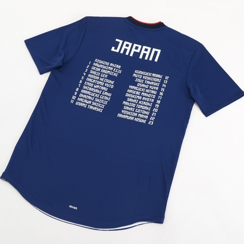 2018 adidas サッカー日本代表 メモリアルホームオーセンティック ユニフォーム 半袖