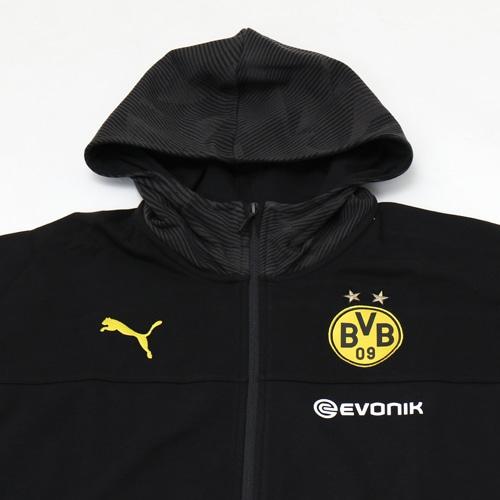 BVB カジュアル フルジップスウェットジ