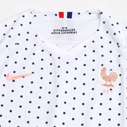 ウィメンズ 2019 フランス代表 2ND 半袖 レプリカ ユニフォーム