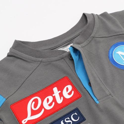 SSC NAPOLI T/Cポロシャツ