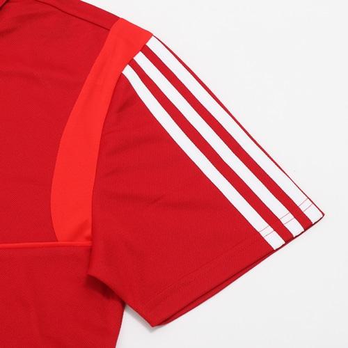 TIRO19 ポロシャツ パワーレッド/ブラック/ホワイト