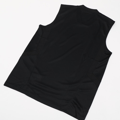 TIRO19 トレーニングジャージー スリーブレス ブラック/ホワイト