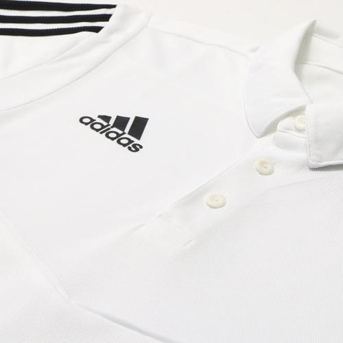 TIRO19 ポロシャツ ホワイト/ブラック
