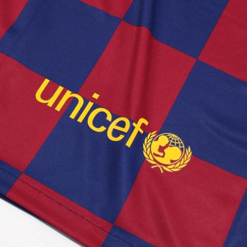 ジュニア 19-20 FCバルセロナ HOME 半袖 レプリカ ユニフォーム