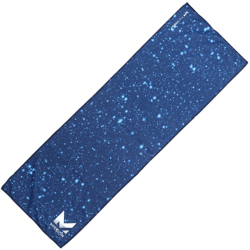 MAX COOLING TOWEL PARTICLE ESTATE BLU NS