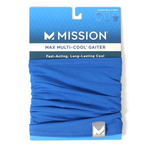 MAX FITNESS MULTI-COOL COBALT BLUE NS