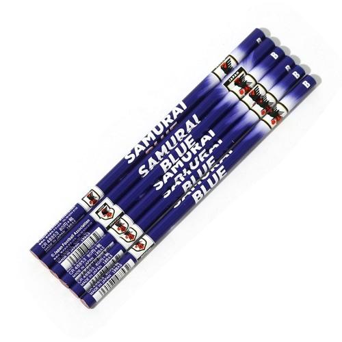 日本代表 6本組鉛筆B フラッシュ