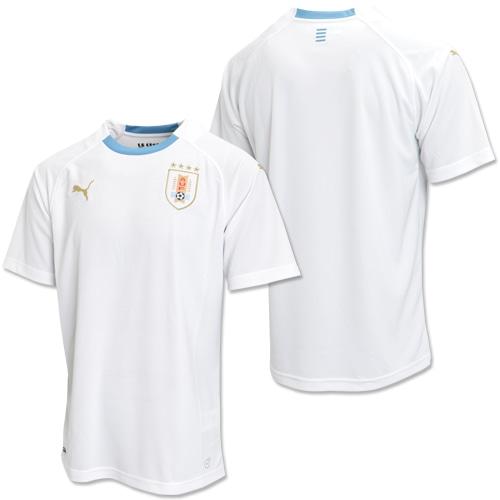 ウルグアイ アウェイ レプリカ SSシャツ PUMA WHITE SILVE