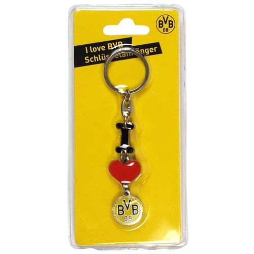 キーリング I LOVE BVB