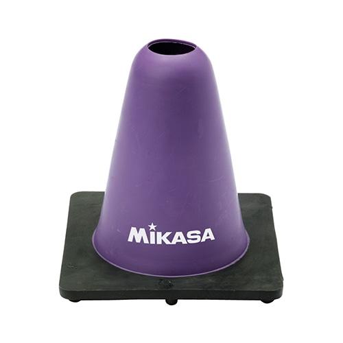 マーカーコーン 紫 高さ15cm NS