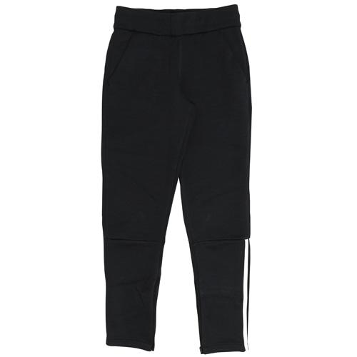 アディダス ジュニア adidas Z.N.E.パンツ ZNEヘザーブラック×ホワイト サッカー