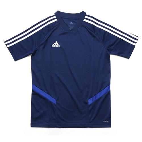 アディダス ジュニア TIRO19 トレーニングジャージー ダークブルー×ボールドブルー×ホワイト サッカー