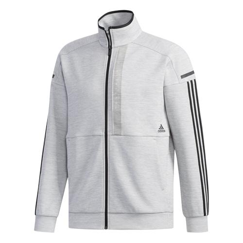 M adidas 24/7 ヘザー ウォームアップジャケット ミディアム