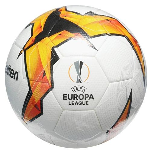 モルテン UEFA EL 18-19(ノックアウトステージ)試合球 NS ホワイト×オレンジ×ブラック サッカーボール