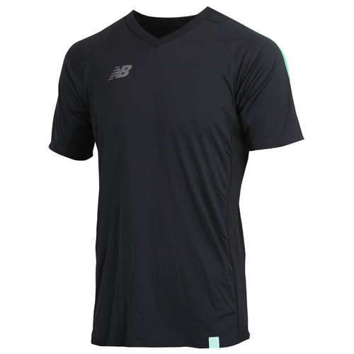 ニューバランス プラクティスシャツ ブラック サッカーウェア