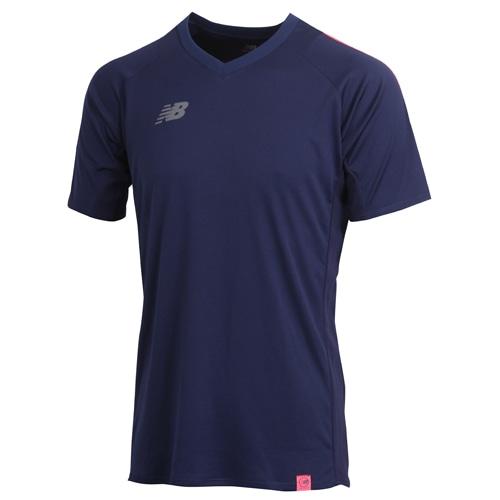 ニューバランス プラクティスシャツ ネイビー サッカーウェア