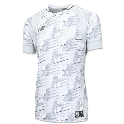 ニューバランス ハイブリッドプラクティスシャツ ホワイト サッカーウェア