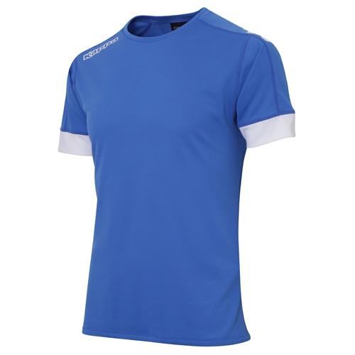 カッパ 半袖ゲームシャツ イタリアブルー サッカーウェア