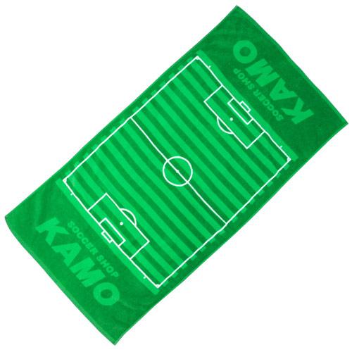 KAMOサッカーピッチ スポーツタオル