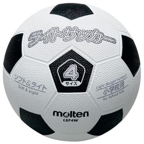 ライトサッカー 4号球 ホワイト/ブラック NS