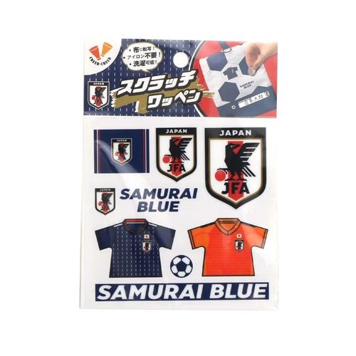 スクラッチワッペン(SAMURAI BLUE) NS