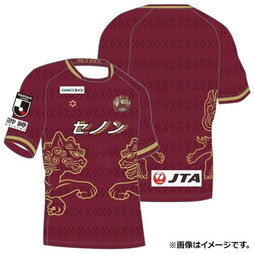 スフィーダ 2019 FC琉球 1ST オーセンティック ユニホーム バーガンディー サッカー
