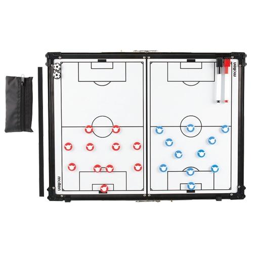 モルテン サッカー折りたたみ式作戦盤 NS ブラック×ホワイト