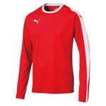 LIGA LS ゲームシャツ ジュニア 01PUMA RED-PUMA