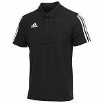 TIRO19 ポロシャツ ブラック/ホワイト