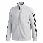 M adidas 24/7 ヘザー ウォームアップジャケット