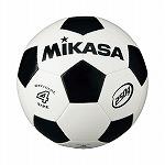 サッカー4号 軽量球 約250g 白/黒 NS